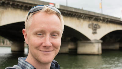 Headshot of Travis O'Brien - 5141